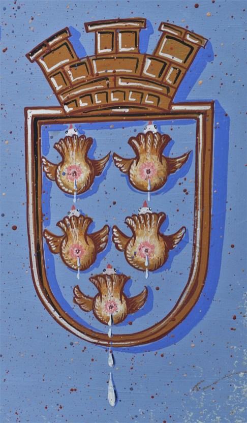 Wappen mit tauben - von Herbert Petermandl
