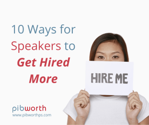 speakers get hired more
