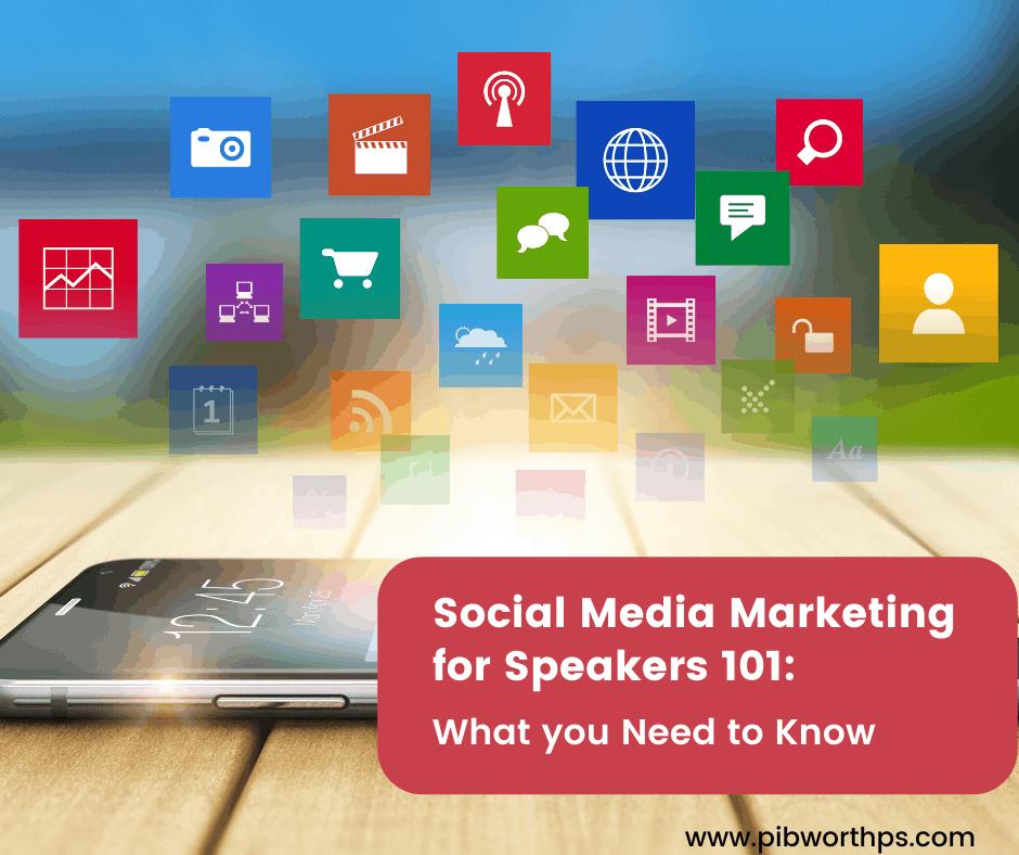 social media marketing for speakers -facebook