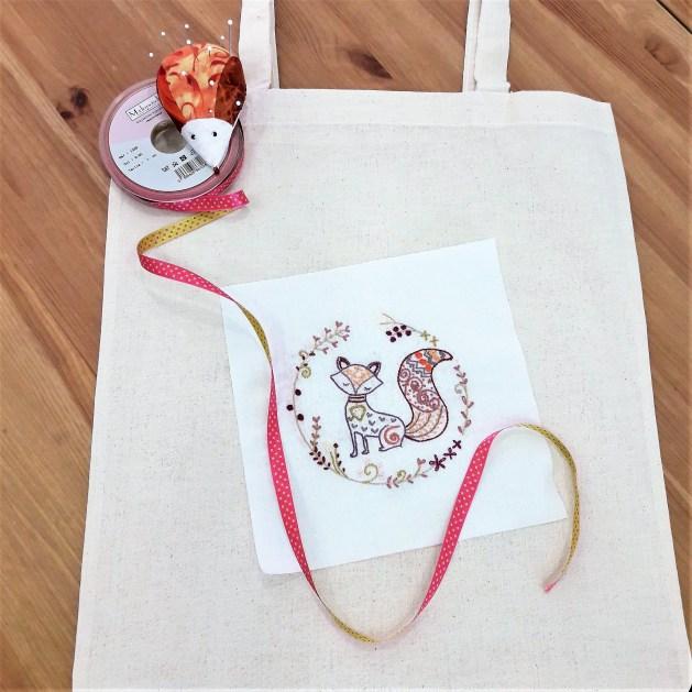 20180428 Tote Bag un chat dans l'aiguille PiC Epingles