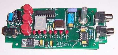 1hz To 10mhz Sine Square Function Generator Based On The Ad9835 And Pic16f628