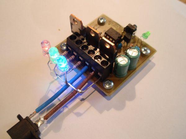 Pic16f628 Rgb Led Control Circuit Pic16f628 Rgb Led Schematic