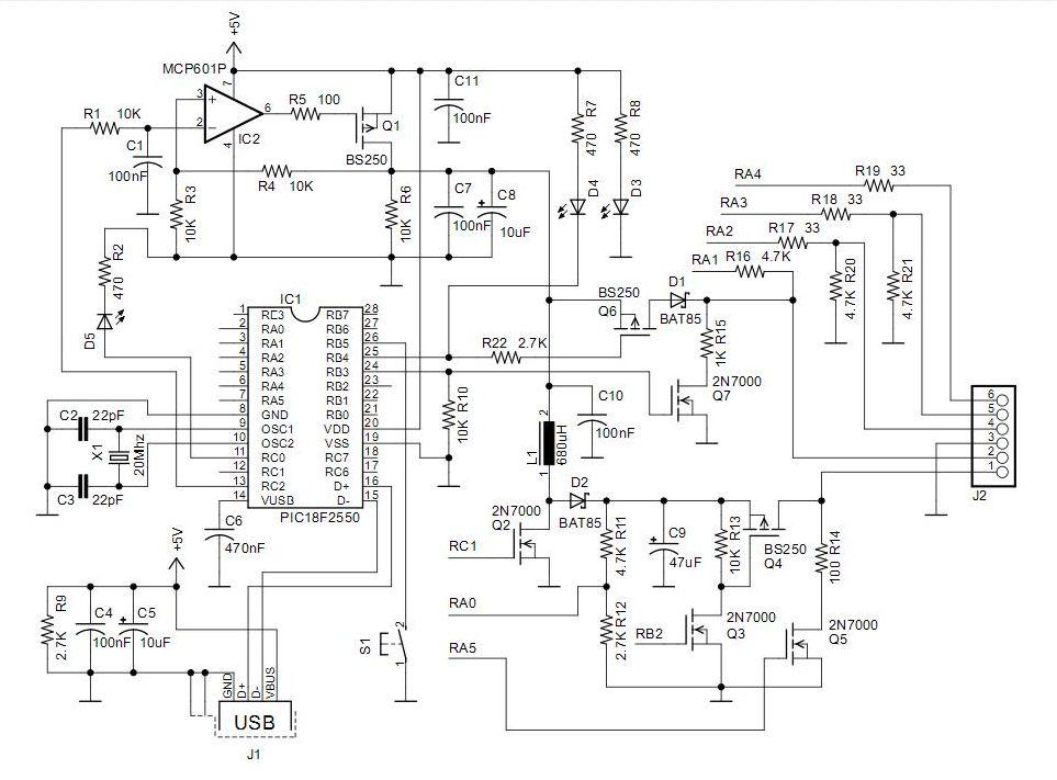 pickit 2 programmer circuit diagram eye anatomy vintage download & develop your own usb ii