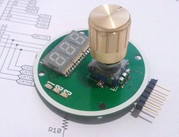 Digipot Rotary Encoder Digital Potentiometer Electronicslab
