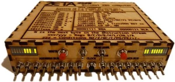 Z80 Circuit Diagram