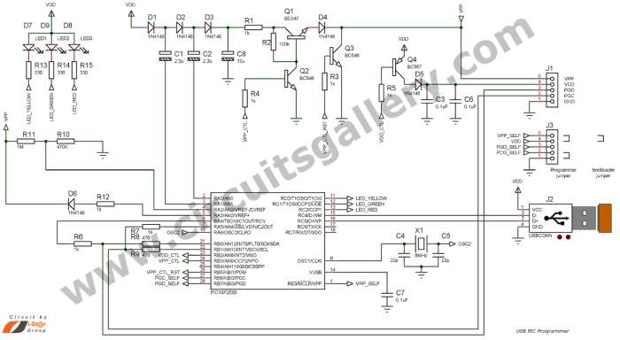 How to burn or program PIC Microcontroller?
