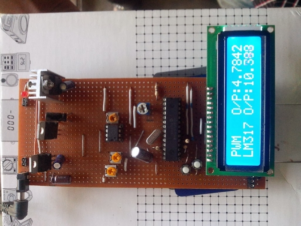 Lm317t Variable Voltage Regulator