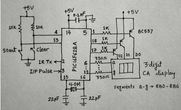 Heartbeat Sensor Heart Beat Sensor Circuit Diagram Free Circuits