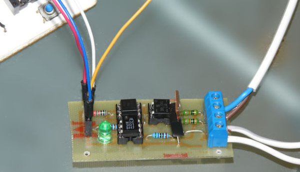 Ac Dimmer Circuit Microcontroller Controlled