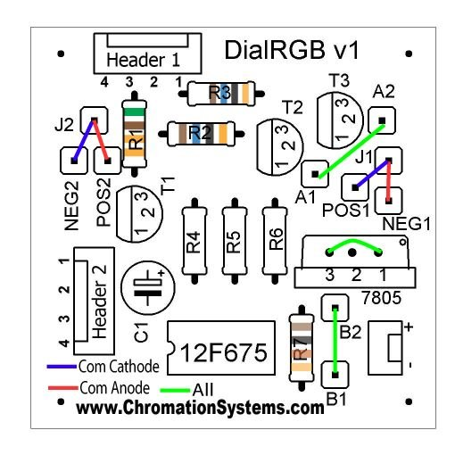 Cheap and Easy Dial Controlled High Power RGB LED(s) Driver