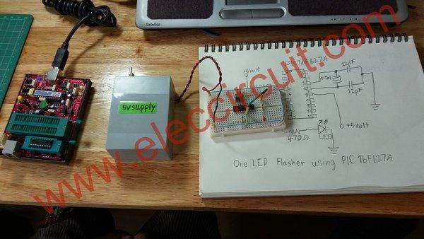 16 Led Flasher Circuit Using 555 Ic