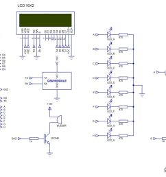 sms based device control using gsm modem schematic [ 3696 x 1840 Pixel ]