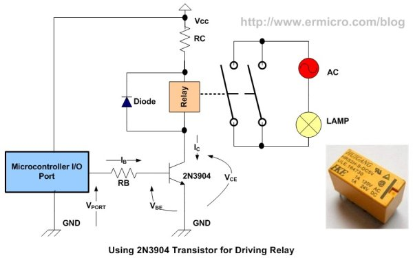 Calculate The Rb Value Of The Dc Motor Circuit Interface Bellow
