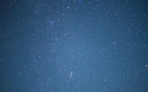 PowerShot SX700 HSは星空撮影には向かないかも・・・