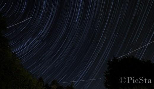 星の軌道を写真に!比較明合成ができるフリーソフトと撮影の方法