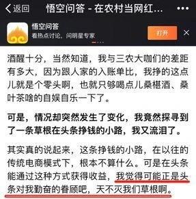 farmers sinks for kitchen island chairs with backs 新农村网红 的江湖 年入千万 内容下沉式生长 36氪 内容下