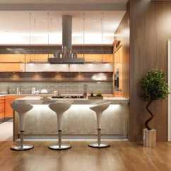 Modern Kitchen Stools Black Undermount Sink 现代厨房设计效果图片 现代厨房的设计素材 高清图片 摄影照片 寻图免费 现代厨房的设计