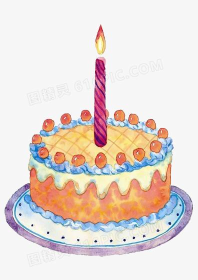 生日蛋糕卡通圖片免費下載_PNG素材_編號1m9i40ypv_圖精靈