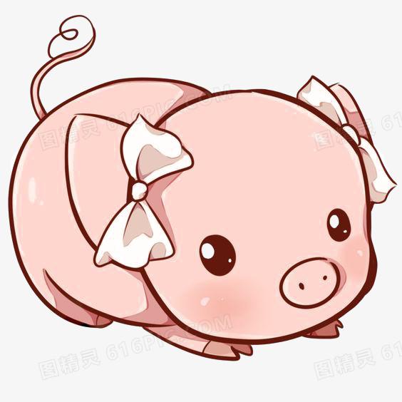 卡通小豬圖片免費下載_PNG素材_編號1yqid3n4z_圖精靈
