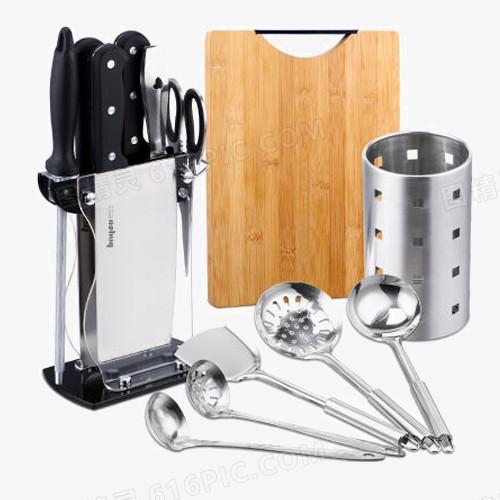 kitchen utensil sets modern design 不锈钢刀剪厨具套装图片免费下载 高清png素材 图精灵 不锈钢刀剪厨具套装