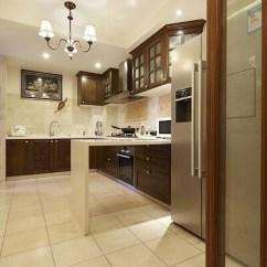 Floor Tile For Kitchen Samples 北欧厨房地砖装修效果图 北欧厨房地砖装修设计