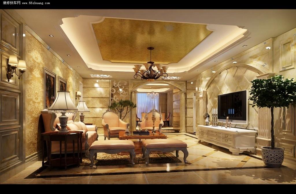 modern kitchen rugs small white island 现代风格三室一厅客厅装修图片大全