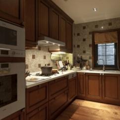 Kitchen Cabints Semi Custom Cabinets Reviews 美式别墅厨房装修图片大全