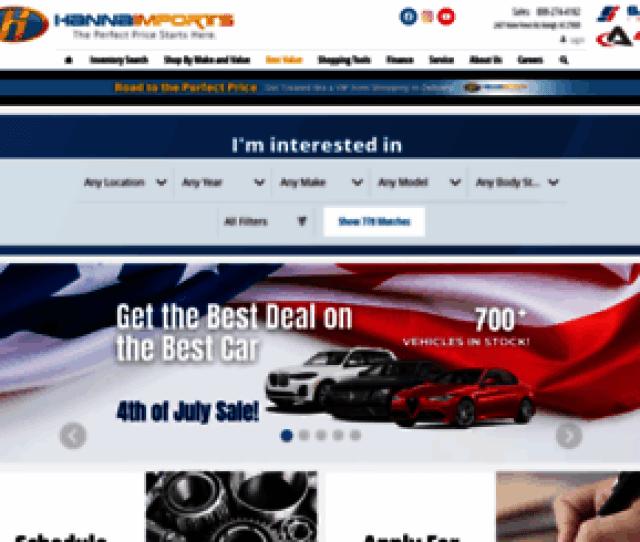 Hannaimports Com Screenshot