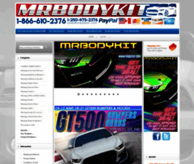 Mrbodykit Com Screenshot