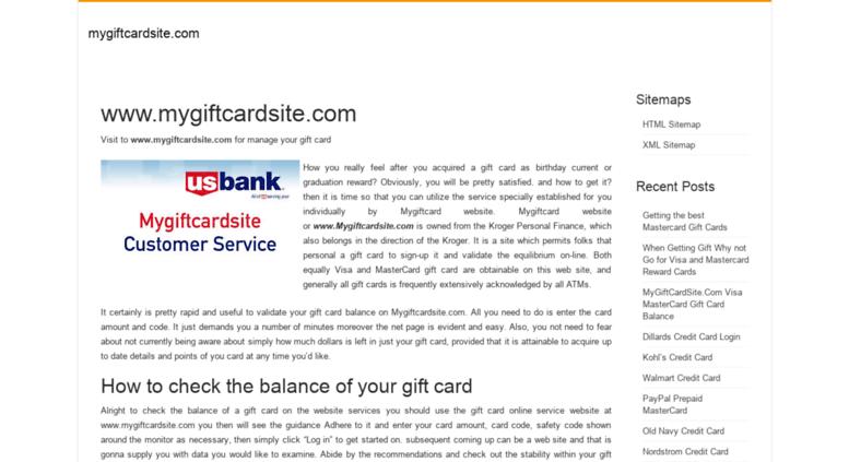 access card login com