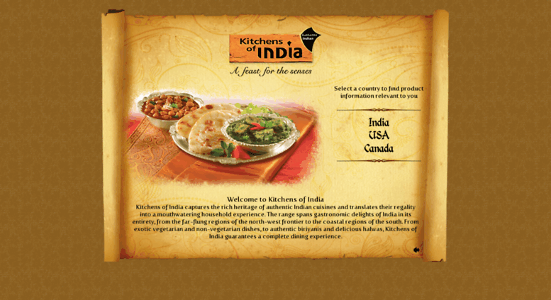 kitchens of india kitchen rags access kitchensofindia com authentic indian cuisine screenshot