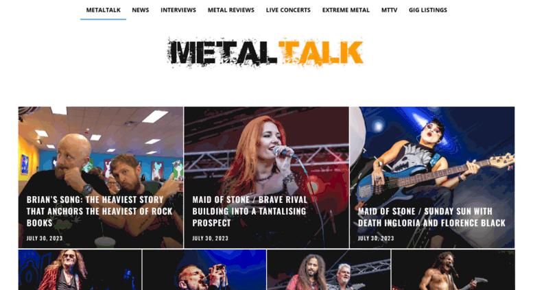 Metal Talk Rocks