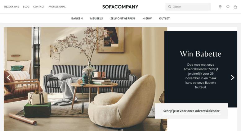 sofa company nl century sofas access sofacompany com scandinavisch design direct screenshot