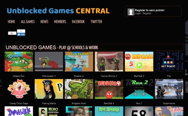 Access Unblockedgamescentral Unblocked Games Central