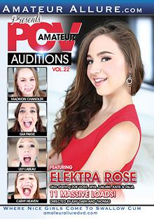 Amateur POV Auditions 22 cover