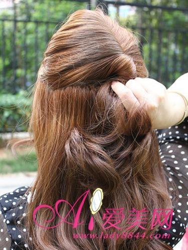 參加婚禮選什麼髮型 教你DIY氣質紮發,美髮分享長髮的紮法圖解教程 - 色彩地帶
