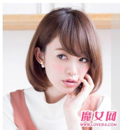 菱形臉適合什麼劉海 菱形臉適合的髮型設計 - 色彩地帶