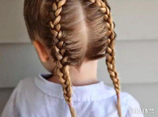 怎樣幫小孩紮頭髮圖片詳解 教你把孩子變成小公主 - 色彩地帶