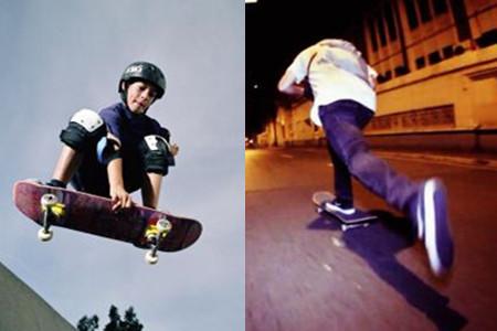 滑板腳的正確擺放姿勢 兩種站位任你挑選 - 色彩地帶