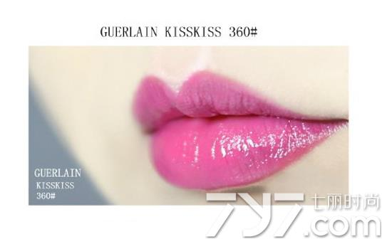 嬌蘭kisskiss唇膏試色 7款不容錯過的口紅顏色 - 色彩地帶
