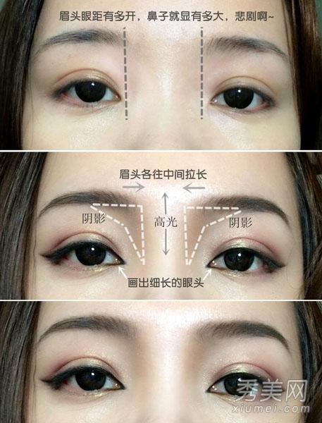 怎麼讓鼻子變挺? 圖解鼻影+眼妝畫法 - 色彩地帶
