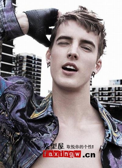 男生瓜子臉適合髮型 9月瓜子臉美男髮型圖片 - 色彩地帶