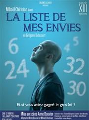 La liste de mes envies Ciné 13 Théâtre Affiche
