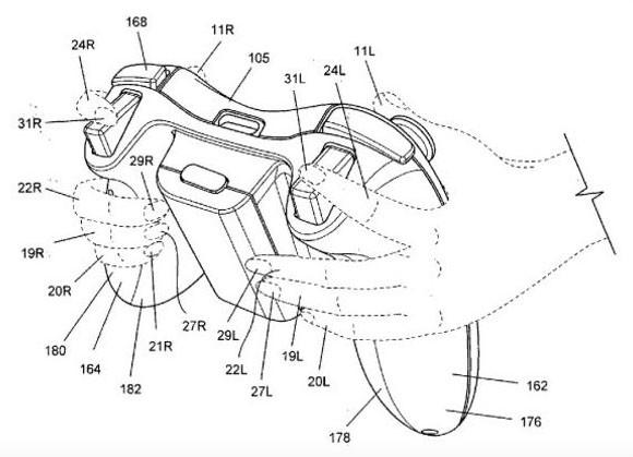 Microsoft : un brevet de manette biométrique