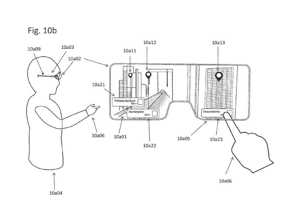 Apple : un brevet pour des lunettes à réalité augmentée