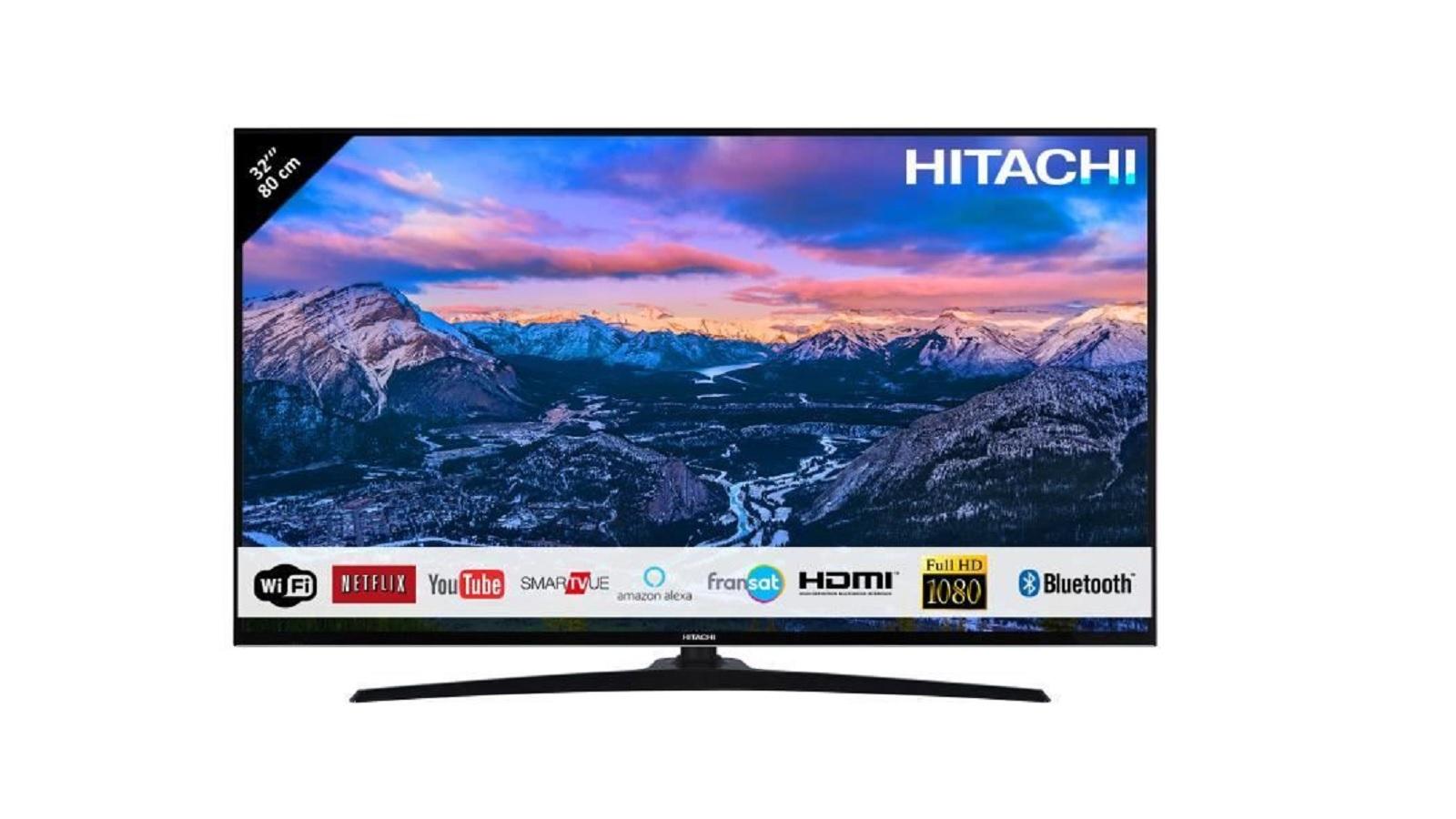 cdiscount tv led 32 full hd hitachi