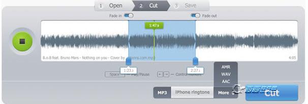 在線音樂剪切(MP3 Cutter Online)下載在線版-西西軟件下載