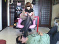 リラックス顔面足置き台その11 美容師 15時間履きタイツ