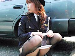 エリート婦警の失態