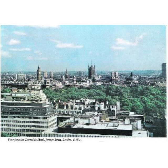 London View From Cavendish Hotel Jermyn Street Postcard C 1970s On Ebid United Kingdom 140780689